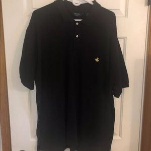 Brooks Brothers Black Polo Size XL